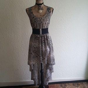 Snake Print Dress ♣️♣️